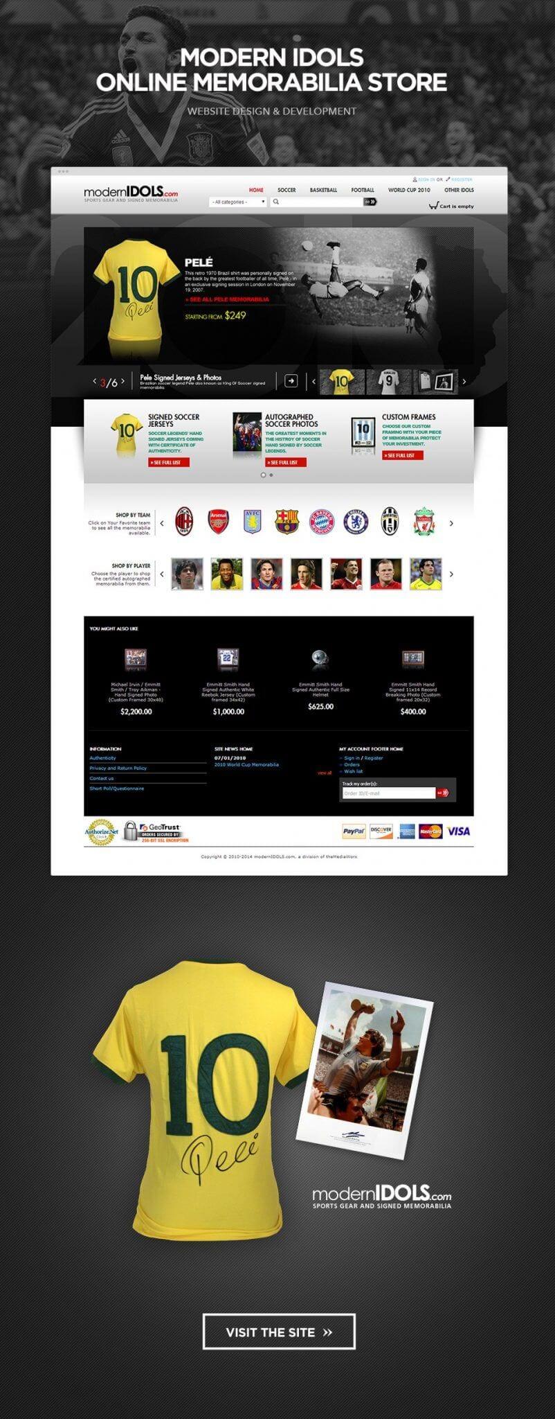 eCommerce website design Los Angeles Glendale